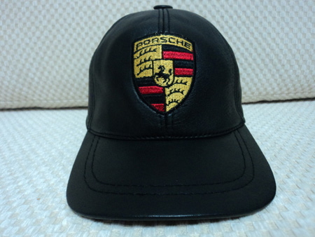 Porsche Leather Black Baseball Hat Cap [BUY 1 GET 1 FREE]